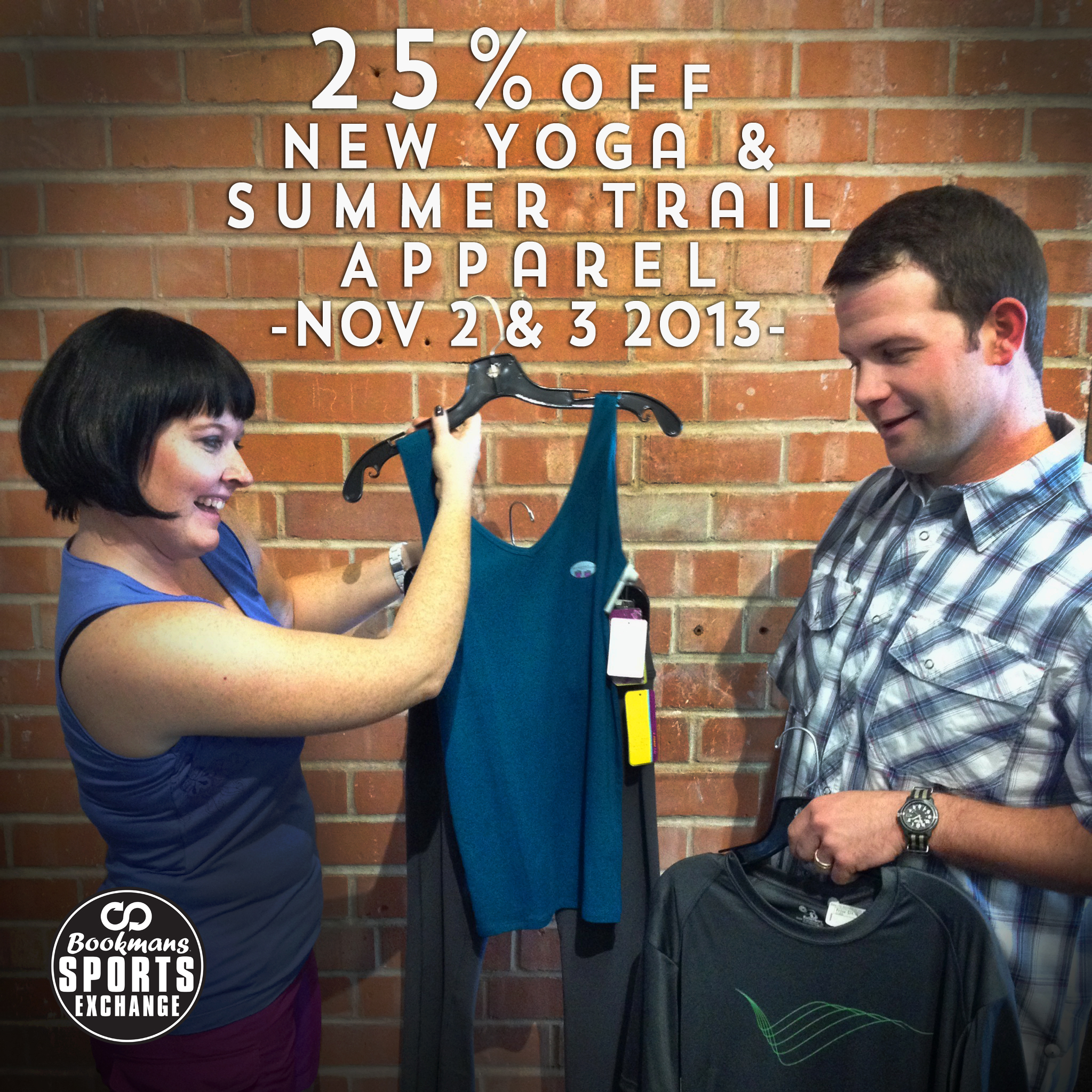 New Yoga and Summer Hiking Apparel Sale - Bookmans Sports ... - photo#18