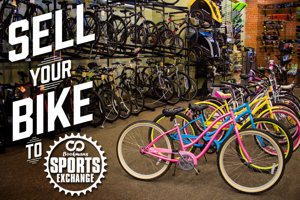 Sell Your Bike at Bookmans Sports.